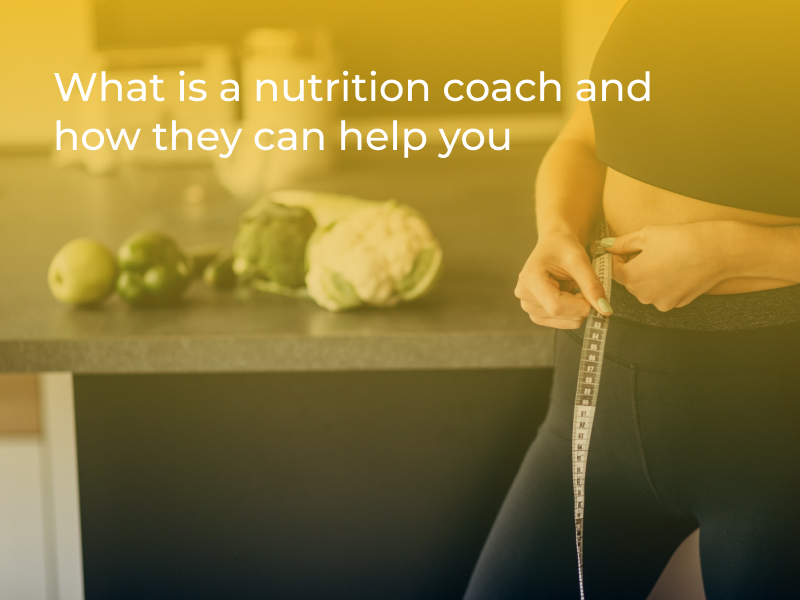 what nutrition coach is