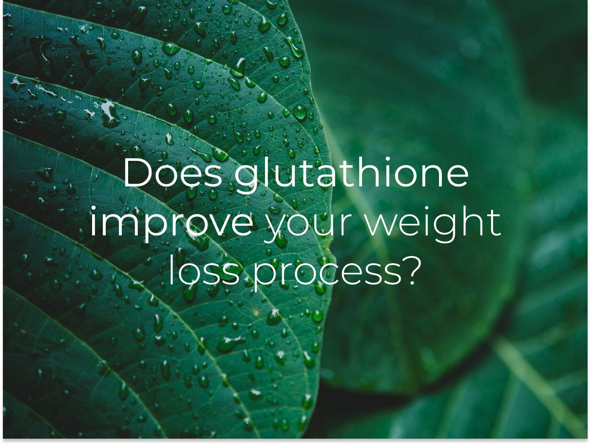 glutathione for weight loss