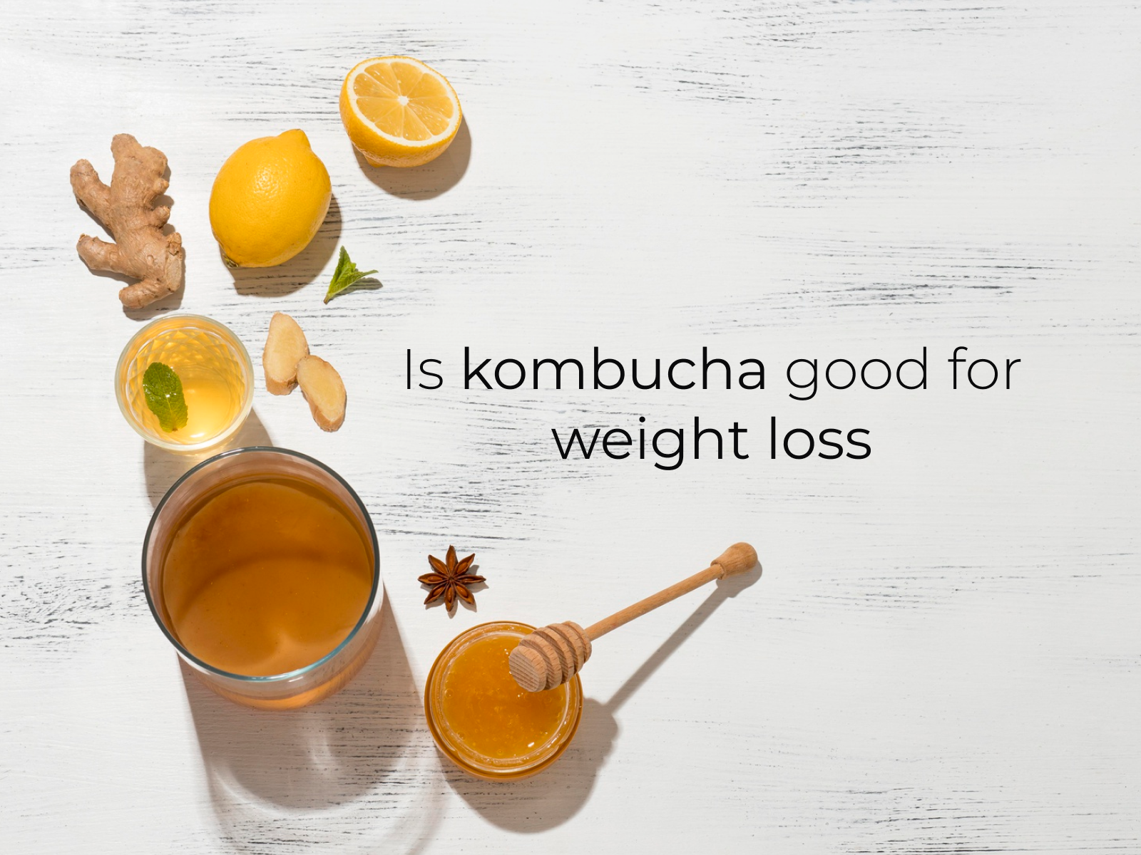 kombucha for weight loss